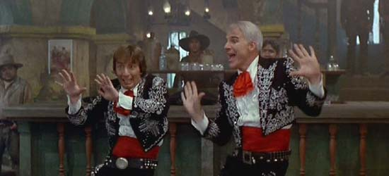 "Three Amigos: Possibly the world's greatest dance to one of the world's greatest songs, ""My Little Buttercup"""