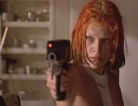 The Fifth Element: LeeLoo is deeply suspicious of Korben's intent when he kisses her while she's unconscious.