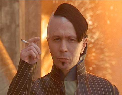 The Fifth Element: Zorg and his handiwork - a little surprise for the Mangalores that failed him.