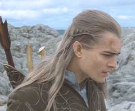 Lord of the Rings: The Fellowship of the Ring: Legolas reacts to Gandalf's sacrifice.