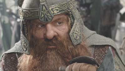 Lord of the Rings: The Return of the King: Good 'ol Gimli.