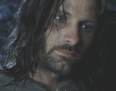 Lord of the Rings: The Return of the King: It cannot be said that Aragorn lets �owyn down particularly easy, but his compassion for her is clearly heartfelt.