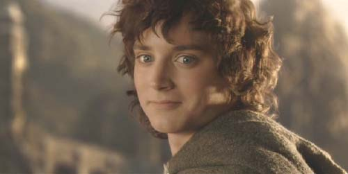Lord of the Rings: The Return of the King: Frodo's farewell.