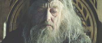 Lord of the Rings: The Two Towers: King Th�oden, aged and impotent under the evil influence of Saruman.