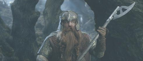 Lord of the Rings: The Two Towers: Gimli the dwarf