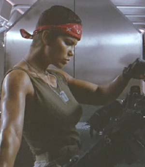 Aliens: A pulse rifle is a girl's best friend.