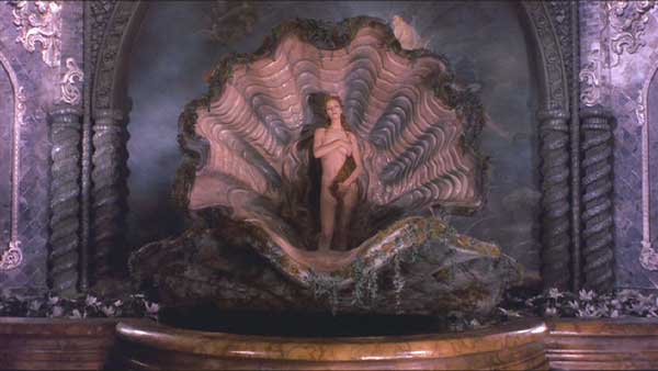 The Adventures of Baron Munchausen: Venus on the half-shell.