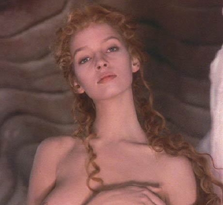 The Adventures of Baron Munchausen: Venus, the Goddess of Love, reveals herself to the Baron.