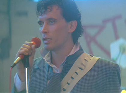 The Adventures of Buckaroo Banzai Across the 8th Dimension: Buckaroo, the crooner.  It was so-o-o-o the eighties then, wasn't it?