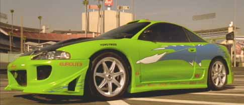 The Fast and the Furious: Brian's Mitsubishi Eclipse