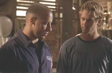 The Fast and the Furious: Dominic tells Brian about his father.