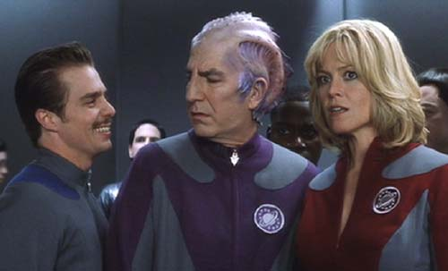 Galaxy Quest: Guy is just jazzed to be here.