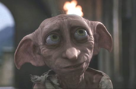 Harry Potter and the Chamber of Secrets: Dobby thanks Harry for winning his freedom.