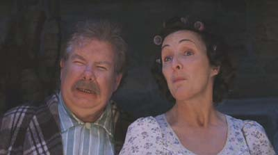 Harry Potter and the Sorcerer's Stone: The muggle-est muggles of them all, Uncle Vernon and Aunt Petunia.