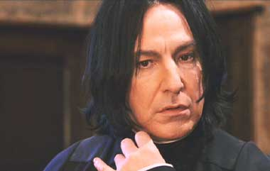 Harry Potter and the Sorcerer's Stone: Alan Rickman as Professor Severus Snape. Who doesn't love this guy?