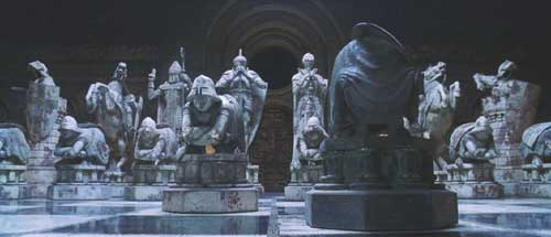 Harry Potter and the Sorcerer's Stone: Wizard's chess.