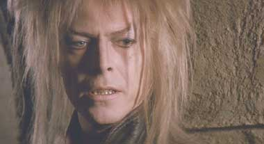 Labyrinth: David Bowie, again.  Get used to it.