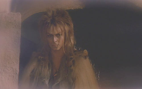 Labyrinth: Another costume change for David Bowie - it's good to be the king.