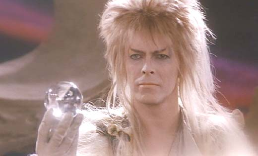 Labyrinth: The Goblin King makes his final appeal to Sarah.  Inexplicably, she turns him down.