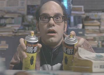 Men in Black: David Cross is another comic actor who never disappoints. Here he plays Newton, a morgue attendent with terrible judgement.