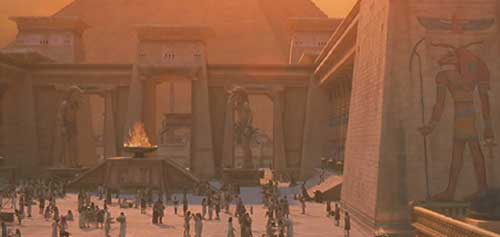 The Mummy (1999): Town Square: The opening scene of  The Mummy