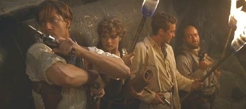 The Mummy (1999): These guys are serious about their treasure hunting.