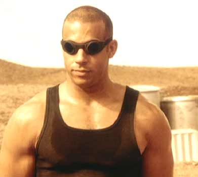Pitch Black: There are going to be a lot of pictures of  Vin Diesel  here - get used to it.  He is  so  fine!