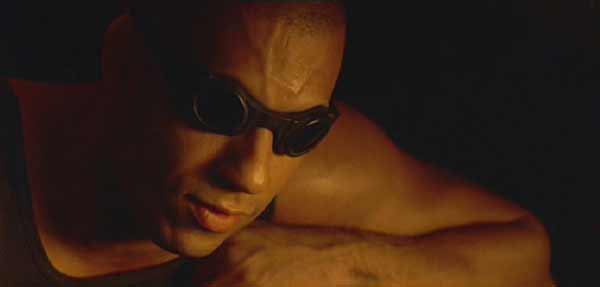 "Pitch Black: ""Once the dying starts..."" Riddick warns Carolyn to expect trouble."