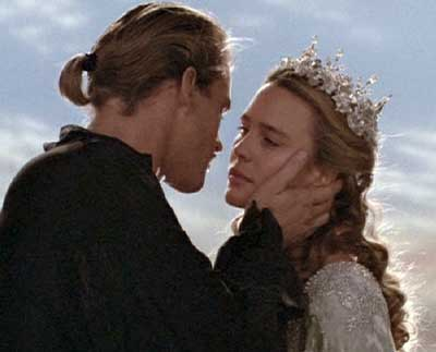 The Princess Bride: The final kiss.