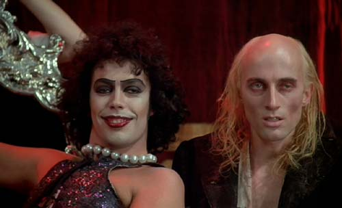 The Rocky Horror Picture Show:  You call that a tan?