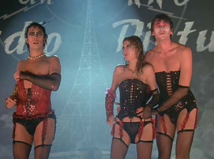 "The Rocky Horror Picture Show: ""Frank-N-Furter, it's all over!"""
