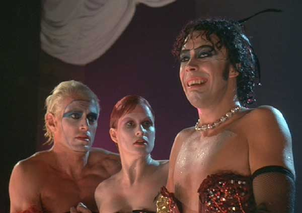 The Rocky Horror Picture Show:  This better be good; they killed you last week.