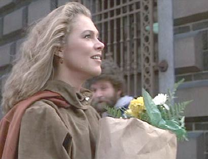 Romancing the Stone: Joan spots the Angelina Columbia.