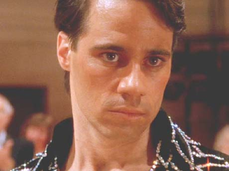 Strictly Ballroom: He's so cute - even when he's miffed.