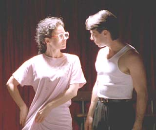 Strictly Ballroom: Fran's got some idea of her own about their unapproved moves.