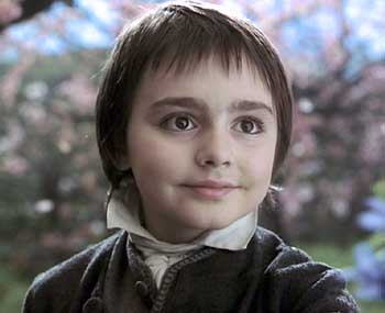 Sleepy Hollow: Ichabod dreams of himself as a child (played by Sam Fior.)