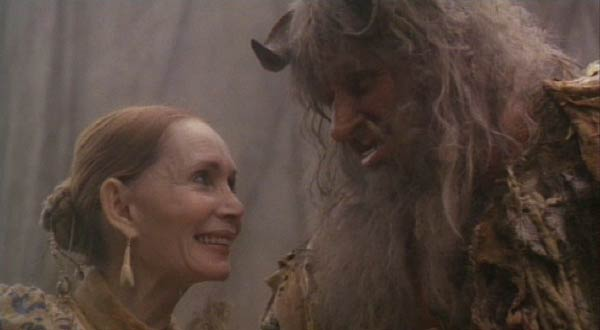 "Time Bandits: Katherin Helmond outdoes herself as the Ogre's wife, flirting with him and suggesting he leer at his prisoners, the way he ""used to."""