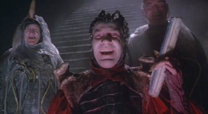 Time Bandits: Having gotten the map, Evil reveals himself.