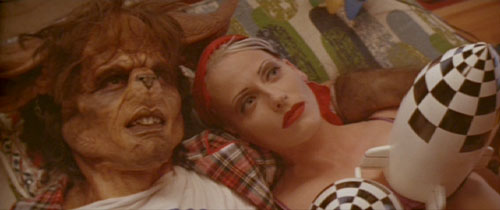Tank Girl: Booga (Jeff Kober) and Rebecca dream of rain.