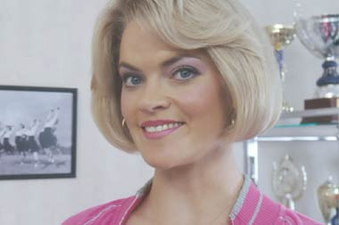Charlie and the Chocolate Factory: Missi Pyle as Violet Beauregarde's mother.