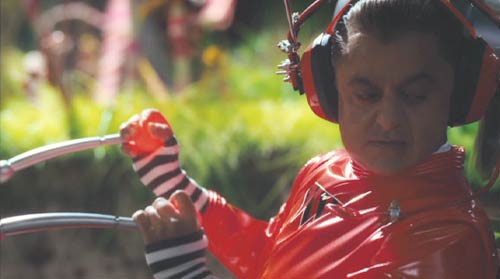 Charlie and the Chocolate Factory: Deep Roy as an Oompa Loompa.