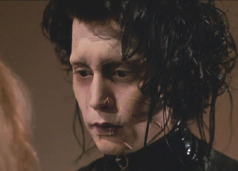 Edward Scissorhands: Edward confronts Kim with his feelings.