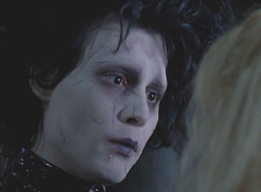 Edward Scissorhands: Kim and Edward's farewell.