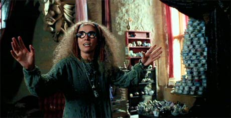 Harry Potter and the Prisoner of Azkaban: How awesome is Emma Thompson as Professor Sybil Trelawney?