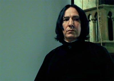 Harry Potter and the Prisoner of Azkaban: Alan Rickman as Professor Severus Snape.