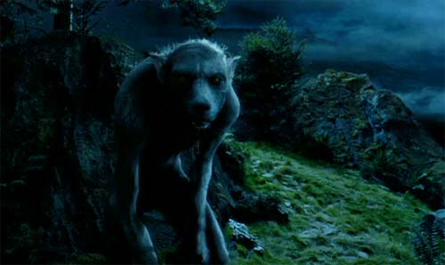 Harry Potter and the Prisoner of Azkaban: Lupin has become the werewolf.