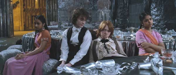 Harry Potter and the Goblet of Fire: Harry and Ron being utter cads at the dance. They do not suffer enough for their selfish disregard.