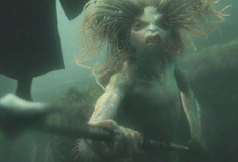 Harry Potter and the Goblet of Fire: Feisty mermaid.