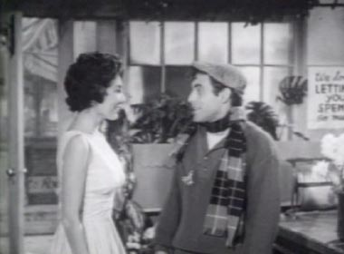 The Little Shop of Horrors (1960): Seymour (Jonathan Haze) and Audrey (Jackie Joseph)