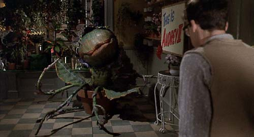Little Shop of Horrors (1986): Audrey II and Seymour